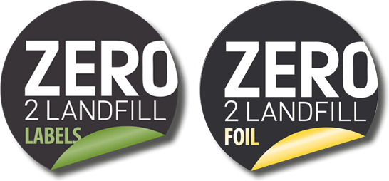 Zero 2 Landfill Logo CS Labels