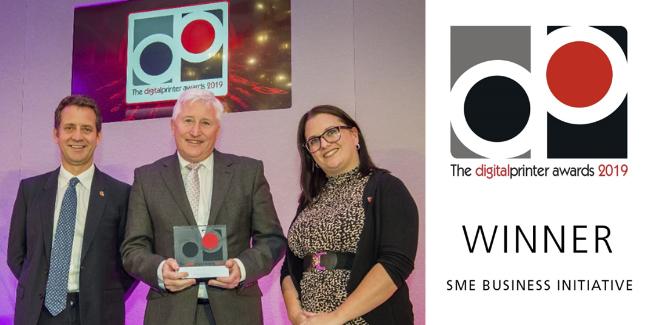 The digital printer awards 2019 award presentation