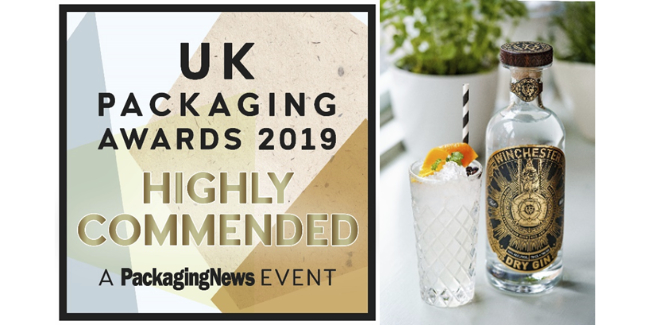 UK packaging awards 2019 highly recommenced