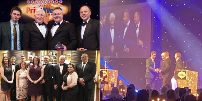 Group photos at 2019 award show
