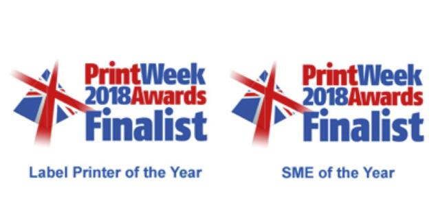 Print week 2018 awards finalist