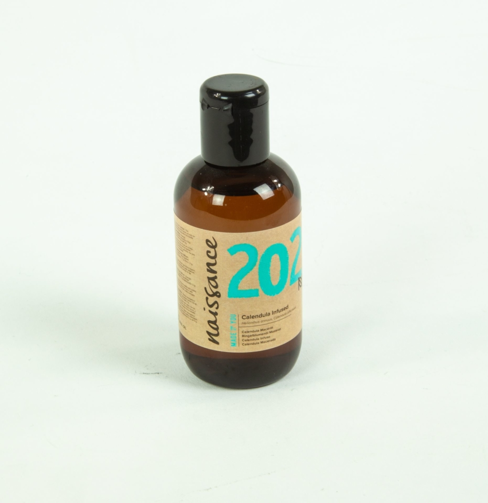 small labelled bottle
