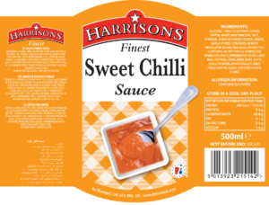 Sweet Chilli Label CS Labels