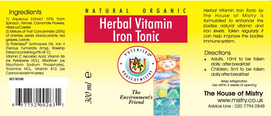 Herbal Vitamin Label CS Labels sports nutrition