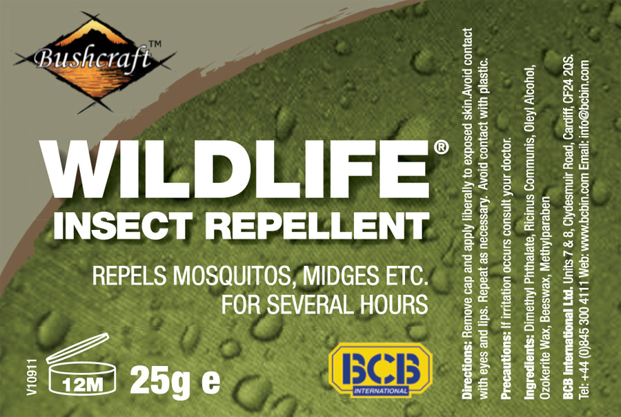 Insect Repellent Label CS Labels