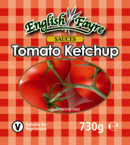 Tomato Ketchup Label