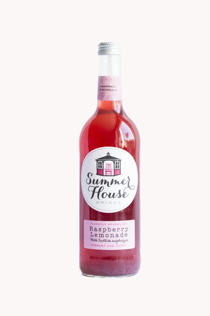 Raspberry Lemonade Label