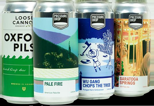 Beer and cider labels