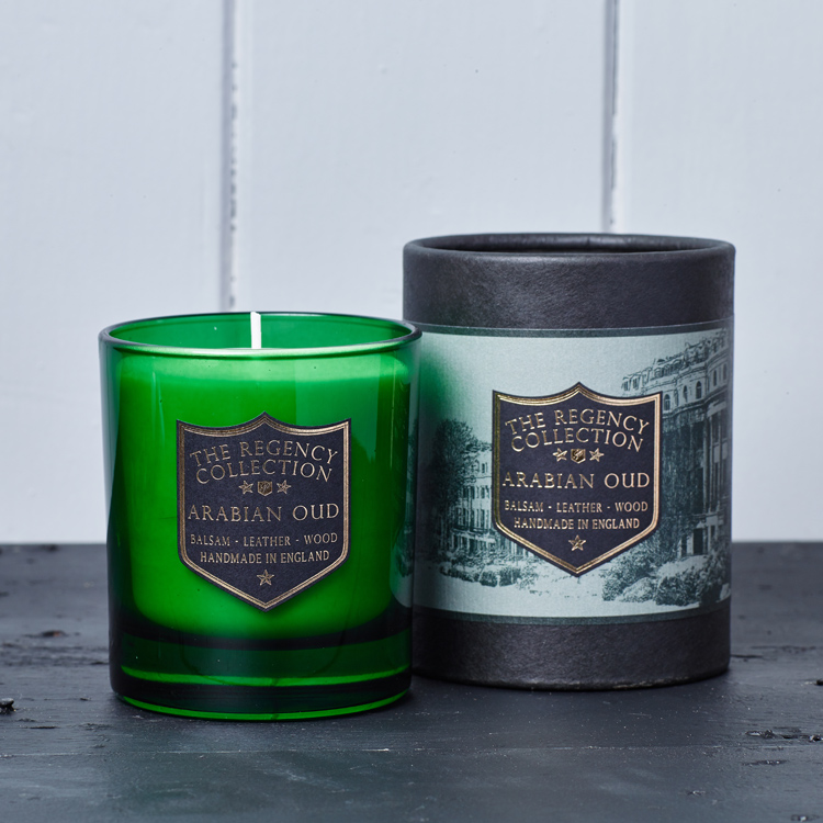 Arabian Oud Scented Candle Regency Collection