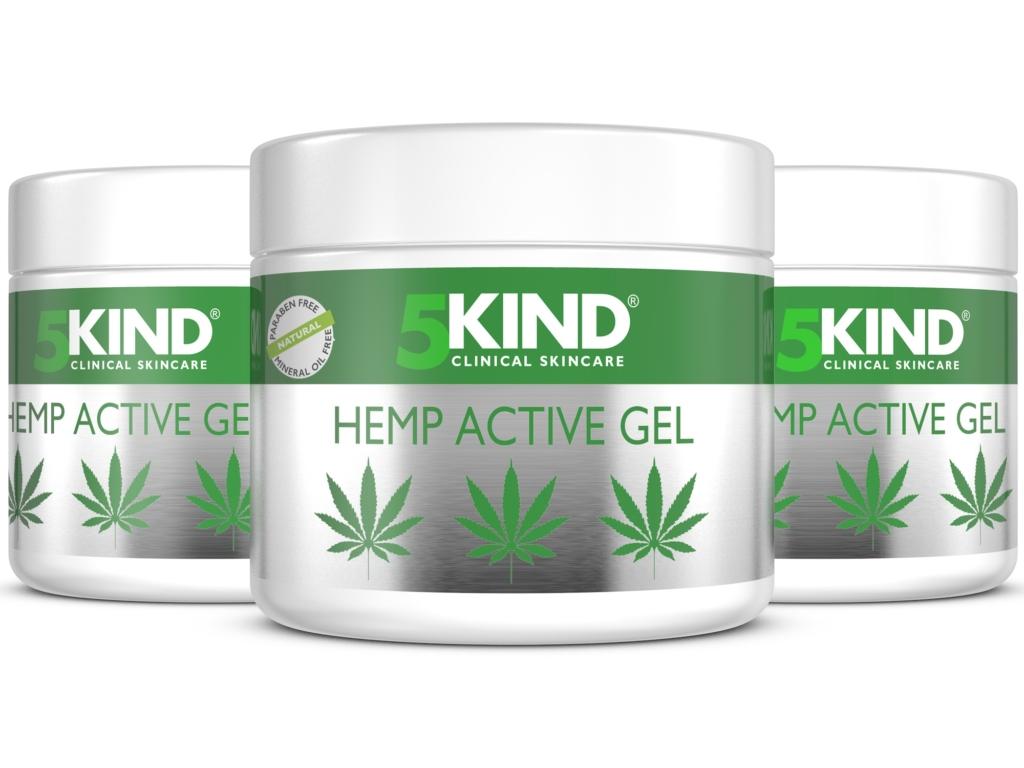 5 Kind hemp active gel label