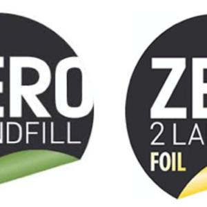 Zero 2 landfill label