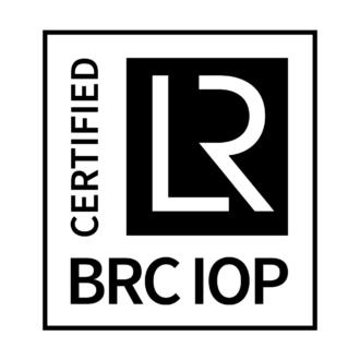 BRC IOP CERTIFIED Positive CMYK
