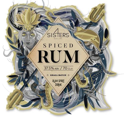 Sis4ers Distillery Spiced Rum