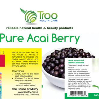 Health product labels - Health and Lifestyle Labels